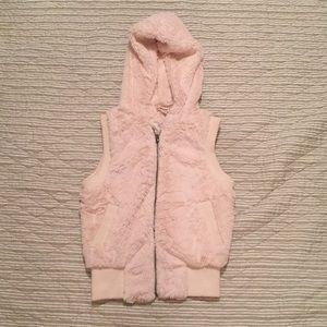 Furry vest!  Retro!  Amazing!!
